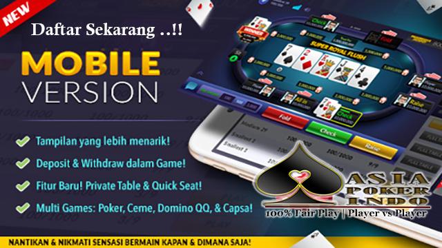 Cara Bermain Poker Lewat Smartphone