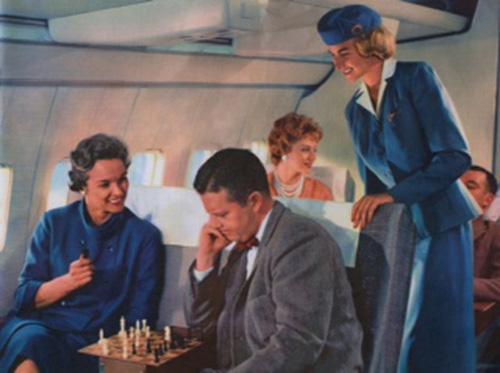 Permainan Poker Ternyata Jadi Hiburan Di Pesawat Jaman Dulu