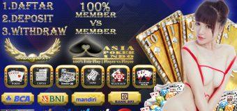 Situs Poker Online 100% Member Vs Member Indonesia