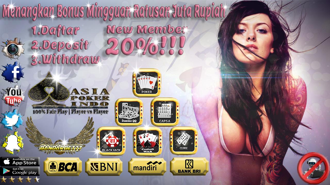Poker Online Terbesar Indonesia Dan Asli Terbaru Tahun Ini
