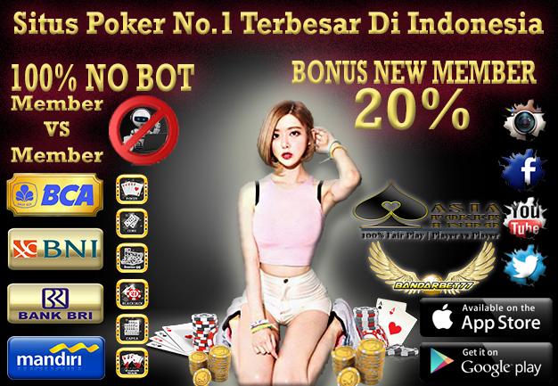 Daftar Poker Online Indonesia Gratis Tanpa Modal