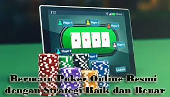 bermain poker online resmi